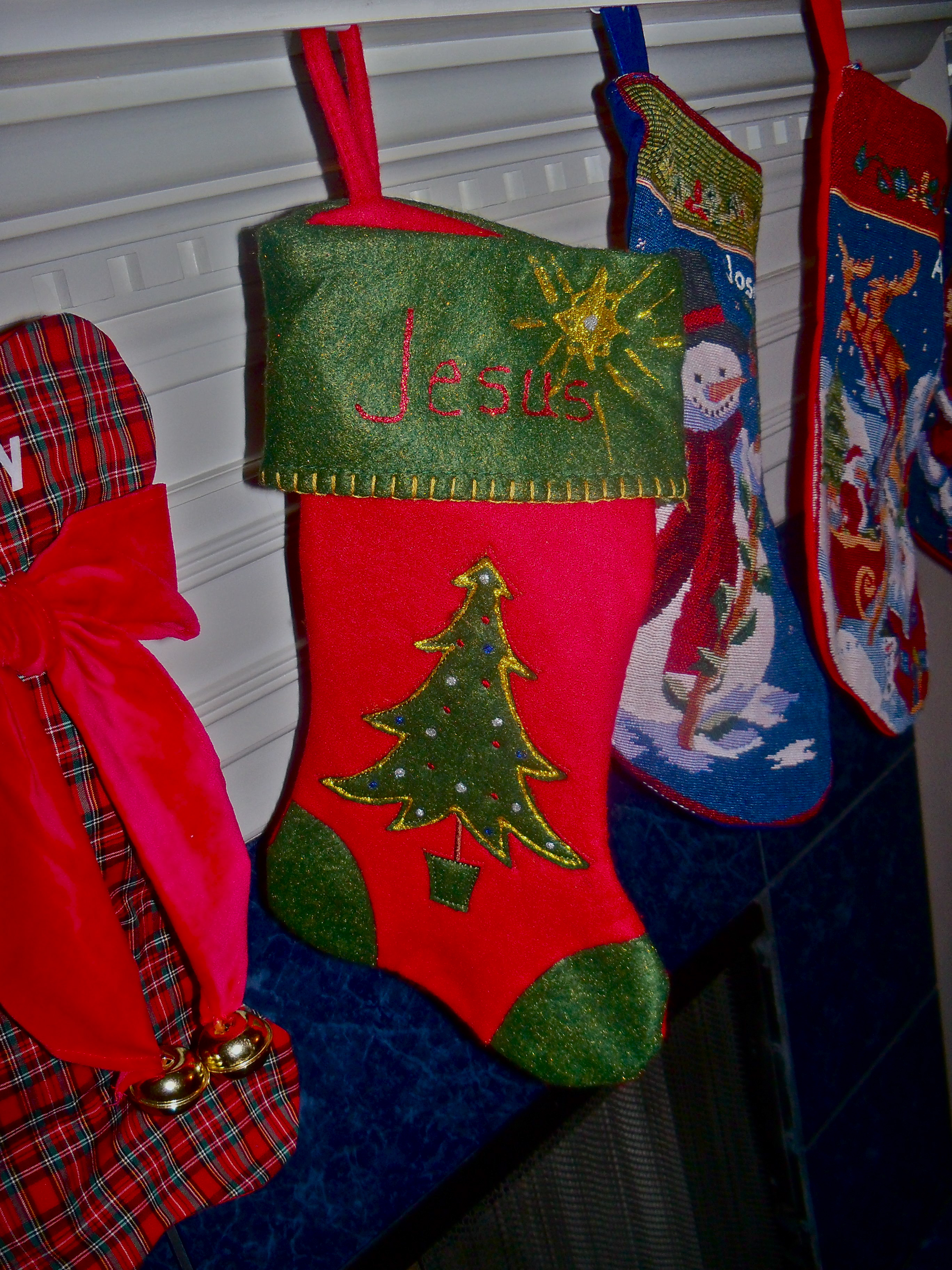 A Stocking For Jesus Catholic Working Mom